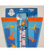 Salt Lake Olympics 2002 Set Of 3 Pack Pennant Pin Bumper Sticker Unused - $18.00