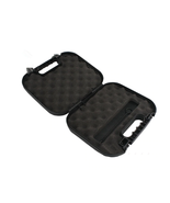 Hunting Pistol Case Tactical Hard Gear Box Gun Padded Foam Lining Access... - €75,13 EUR