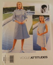Vogue 1942 Designer Isaac Mizrahi Coat Dress Sewing Pattern 8-10-12 ~New~Uncut - $14.84