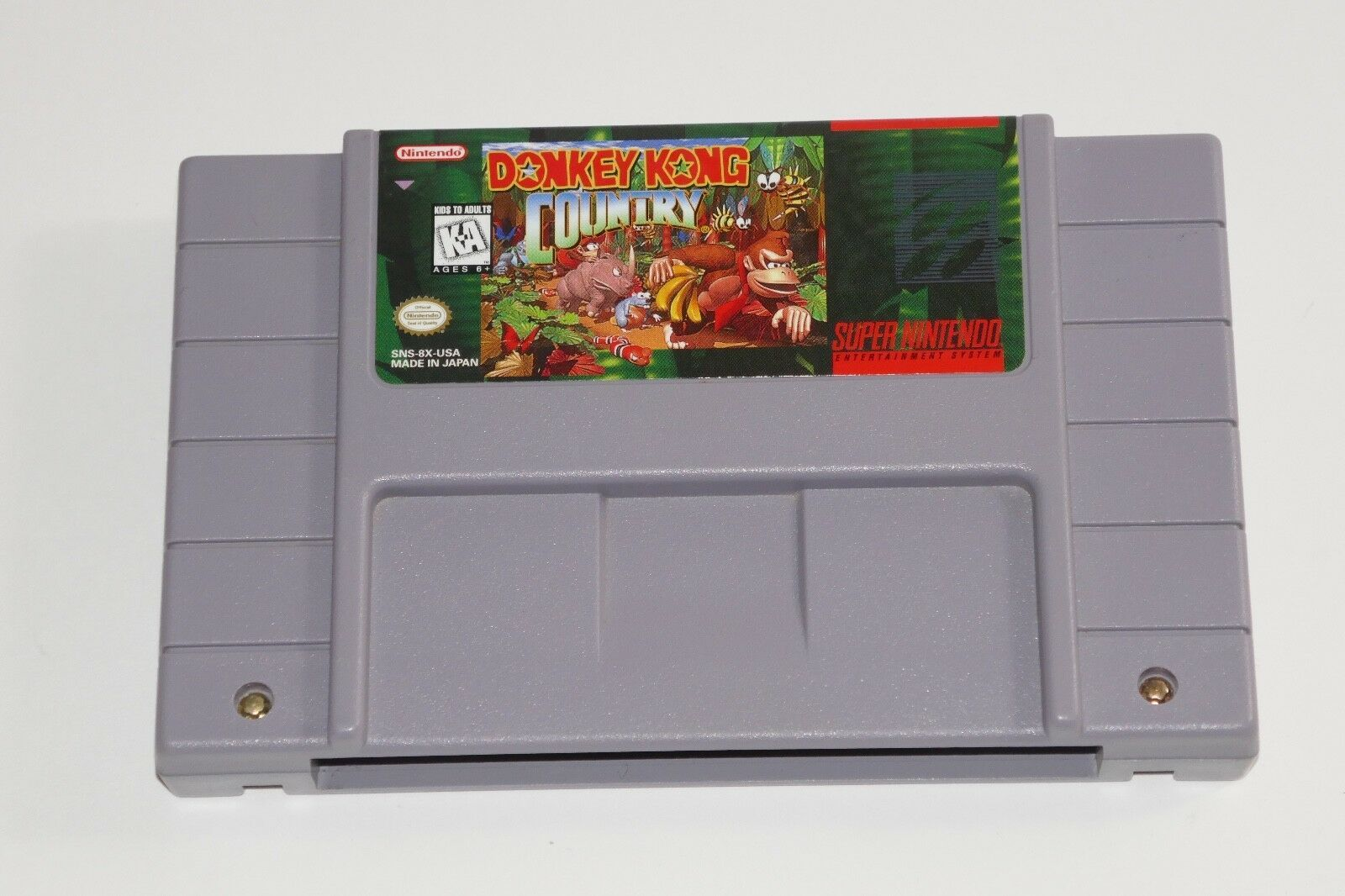 Primary image for  Donkey Kong Country (Super Nintendo Entertainment System, 1994)