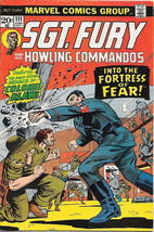 Sgt. Fury and His Howling Commandos Comic Book #111 Marvel 1973 FINE-/FINE - $5.24