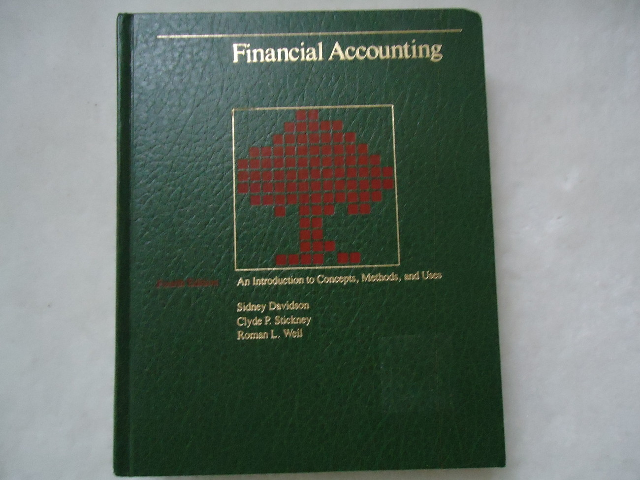 Primary image for Financial Accounting: An Introduction to Concepts, Methods, and Uses by Clyde...