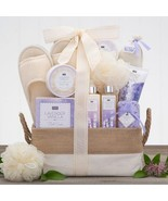 Spa Retreat: Lavender Vanilla Spa Gift Basket - $79.99