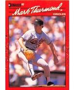 1990 Donruss #612 Mark Thurmond NM-MT Orioles DP - $0.99