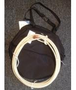 Combo! Jr Kids youth Steer Head Team Roping Rope  practice rodeo bag set... - $19.99