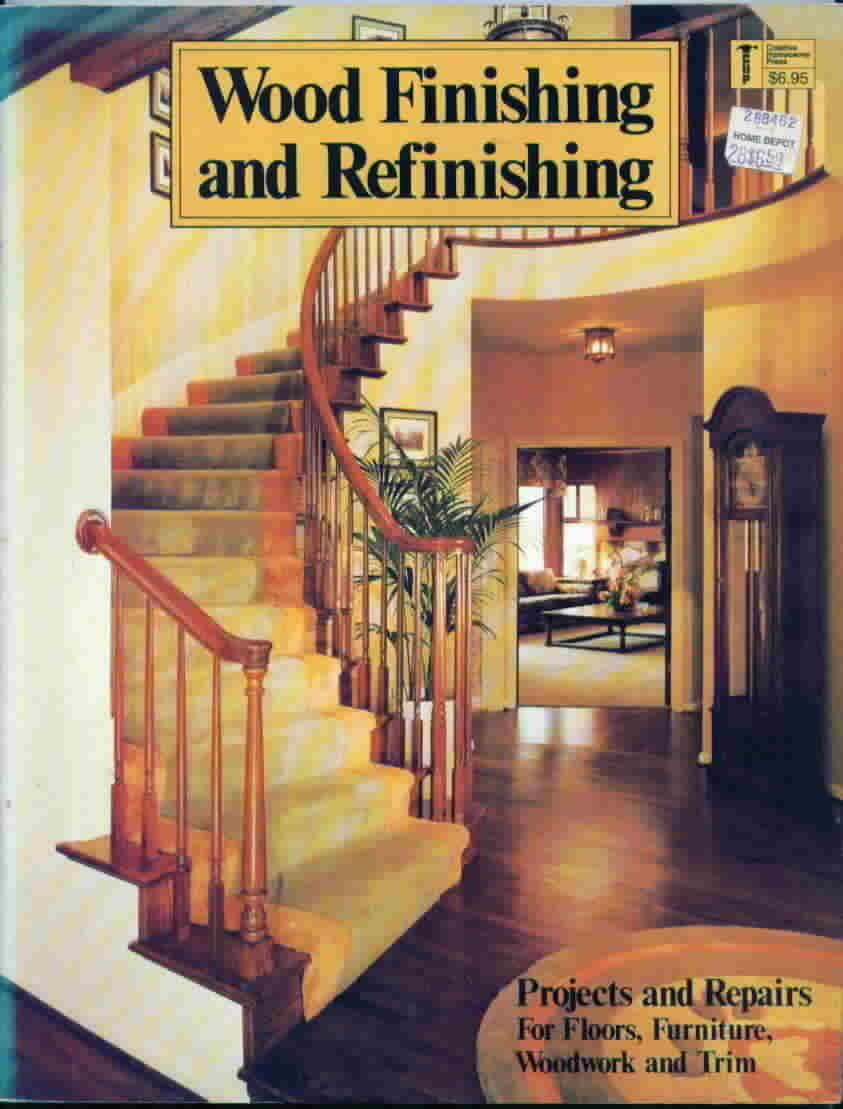 Wood finishing and refinishing projects and repairs