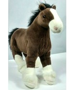 """Gund Clyde Clydesdale Horse Plush Stuffed Animal 15"""" - $23.59"""