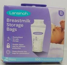Lanisinoh Breastmilk Storage Bags 100 Presterilized Bags - $13.81