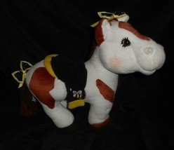 Cabbage Patch Kids 2005 Pony Horse Cream Spotted Bumblebee Stuffed Animal Plush - $24.87