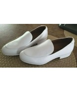 """SHOES FOR CREWS White Womens US Size 8 NEW 1"""" Heel Slip On NICE Slip Res... - $27.00"""