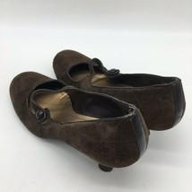 Franco Sarto Brown Suede, Round Toe Pumps, Size 8.5M - $18.81