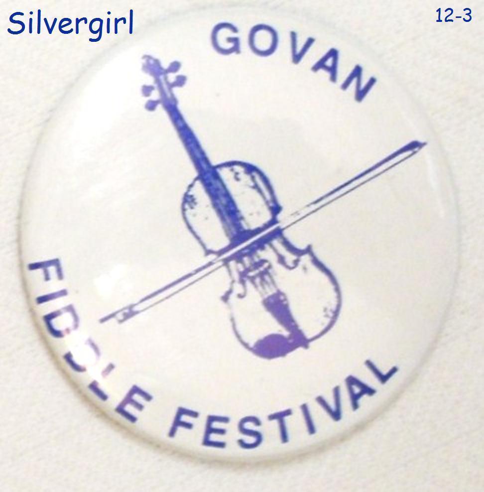Govan fiddle festival pinback 2
