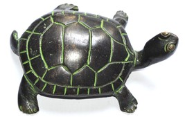 Brass Made Statue Of Turtle For your Perfect Aq... - $13.00