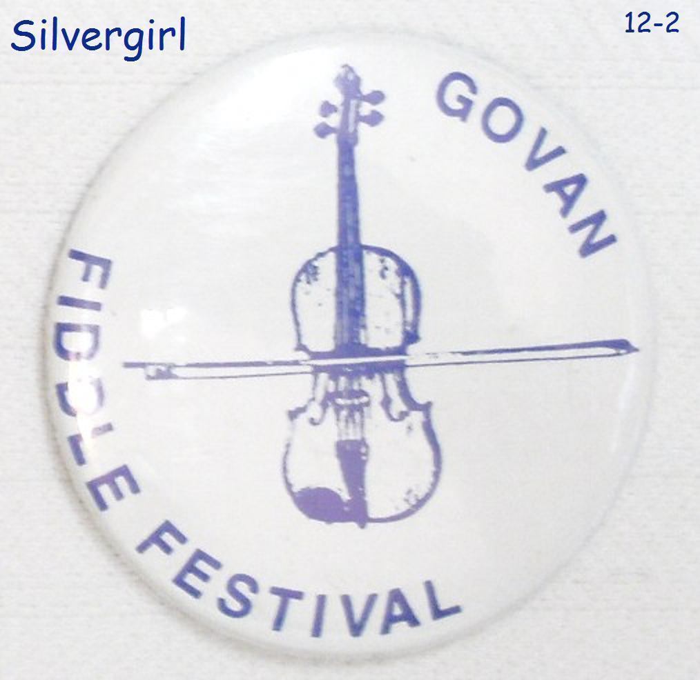 Govan Sask SK Fiddle Festival Pinback