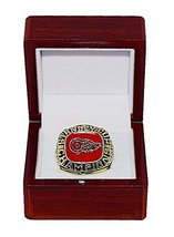 DETROIT RED WINGS (Glasgow) 1997 STANLEY CUP FINALS WORLD CHAMPIONS (Est... - $134.95