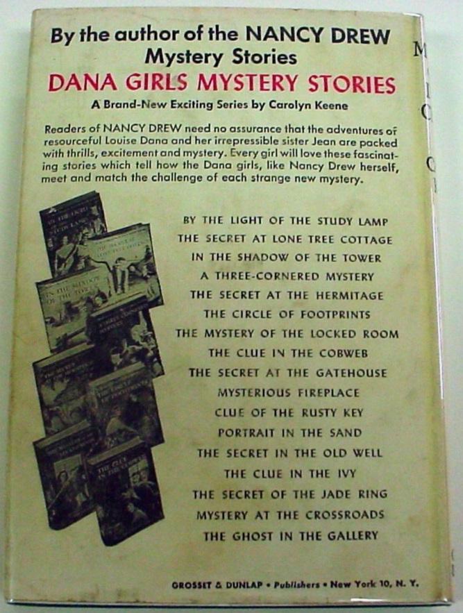 Nancy Drew Mystery of the Ivory Charm no.13 hcdj 1955B-45 Near Fine book VG DJ