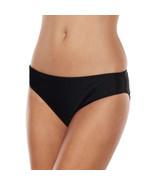 Apt. 9 Solid Bikini Bottoms - Women's, Size: X LARGE (Black) - $33.99