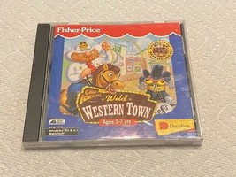 PC Game - Fisher-Price Wild Western Town - $10.00