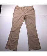 INC International Concepts Women's Size 12 Beige Bootcut Pants - $23.74