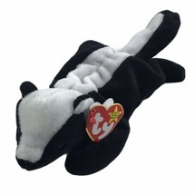 Beanie Baby Babies 1995 Stinky Skunk Errors With Tush Tag Hang Tag PVC P... - £406.42 GBP