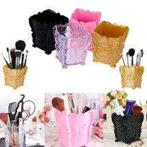 Cosmetic Organizer Brush Makeup Acrylic Storage Holder Box Decorative Color Pen - $7.89