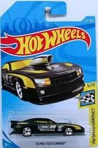 Hot Wheels Int. 2010 Pro Stock Camaro 202/365 5/10 Speed Graphics Set - $4.95