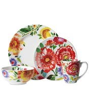 Mikasa Kim Parker Zinnia Dinnerware, Dinner, Salad Plates, Bowls Mugs +++ - $10.99+