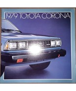 1979 Toyota Corona Catalog Sales Brochure Sedan Liftback Wagon Nice Orig... - $14.84