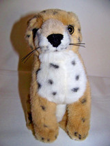 "8"" Plush realistic baby Cheetah stuffed toy - $6.32"