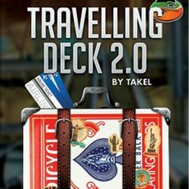 Travelling Deck 2.0 (DVD and Gimmick) by Takel Close Up New Funny Magic ... - $23.75