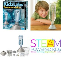 4M Kidzlabs Tornado Maker Science Kit, Diy Weather Cyclone, Typhoon, Hur... - $19.44