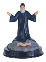 5 Inch Saint Charbel Holy Figurine Religious Decoration Statue Decor - $17.00
