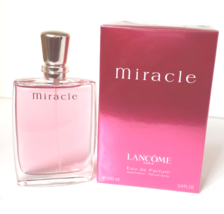 miracle by lancome 3.4oz (100ml) edp spray for women new in box  - $59.99