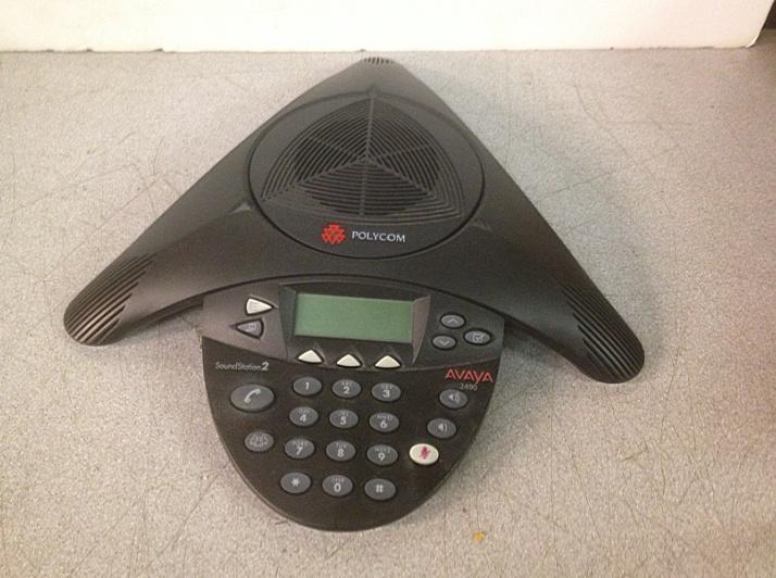 Polycom Avaya 2490 Soundstation2 2301-16375-601 Phone Conference Station