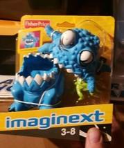 "Imaginext Fisher Price Deluxe Blue Space Alien 5"" Figure Monster 2008 Se... - $25.99"