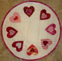 Valentine's Candle Mat - $15.00
