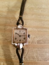 Vintage Longines Women Watch.Great Project.Untested.Sold As Is. - $18.69
