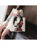 Girl Cartoon Sequins Women Bags Nylon Handbag Large Capacity Shoulder Bag - £33.65 GBP