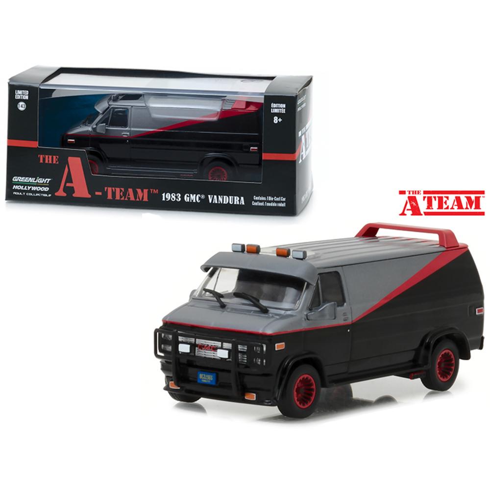 1983 GMC Vandura The A-Team (1983-1987) TV Series 1/43 Diecast Model Car by Gree