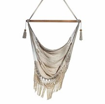 Handmade Hanging Rope Hammock Chair - All Natural Indoor or Outdoor Porc... - $147.20
