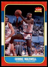 1986-87 Fleer Basketball Premier Cedric Maxwell Los Angeles Clippers #70 - $0.50