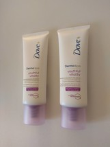 2 PACK Dove DermaSpa Youthful Vitality Hand Cream 75ml for younger-looki... - $24.49