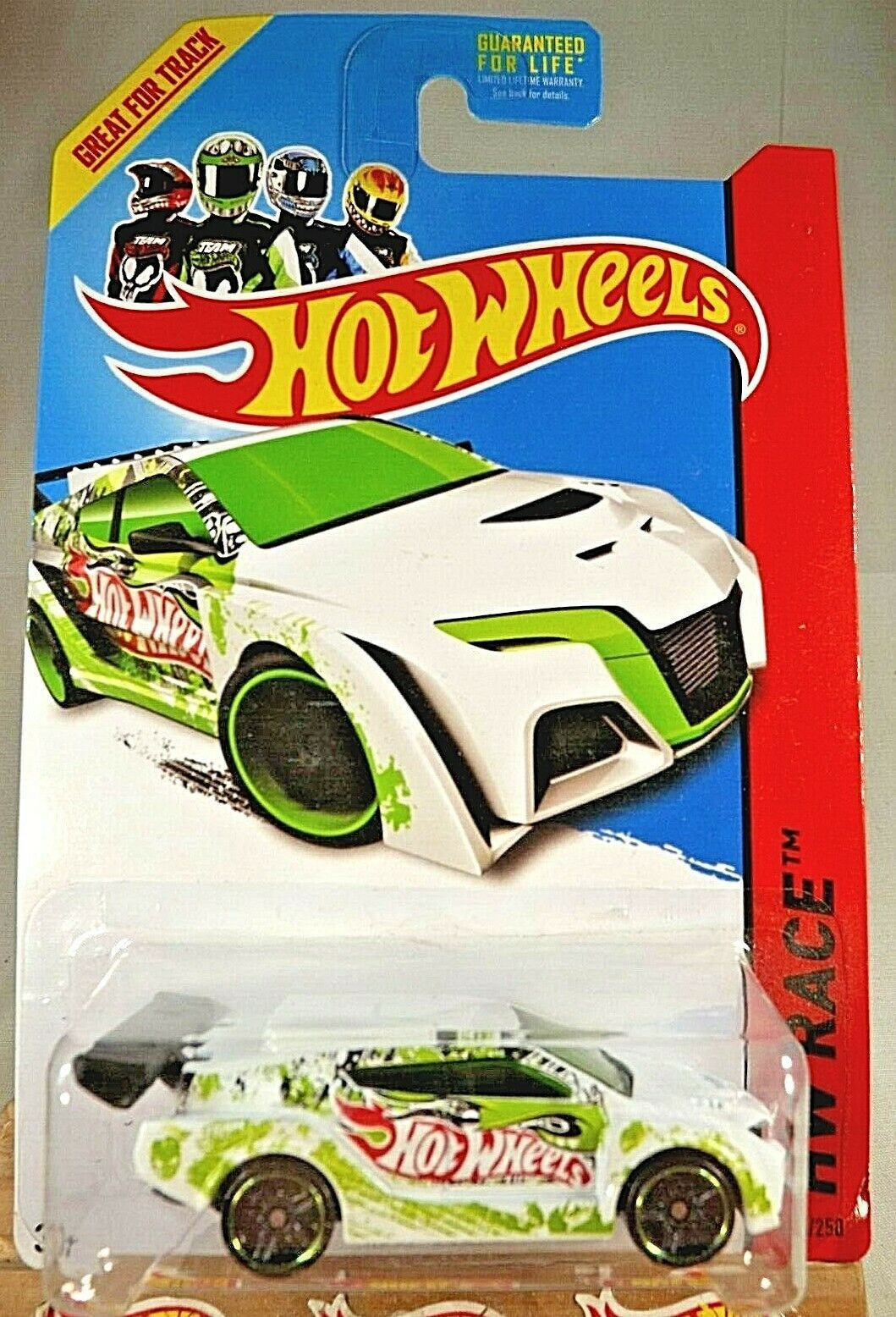 Primary image for 2013 Hot Wheels #115 HW Race-Thrill Racers LOOP COUPE White w/Black Pr5 Spokes