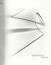 2009 Lexus SC 430 sales brochure catalog 09 US SC430 - $12.00