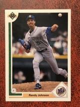 1990 Upper Deck #376 Randy Johnson Milwaukee Brewers NRMT Baseball Card - $0.99