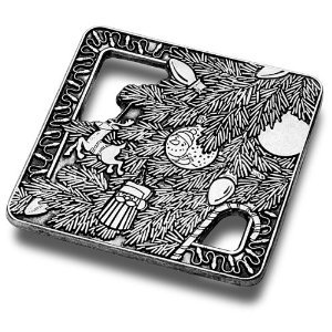 Primary image for Wilton Armetale Ornament with Lights Trivet