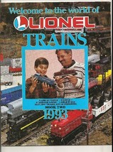 1993 Lionel Trains;Book Two;Train Sets; Locomotives; Passenger Cars; Accessories - $4.99