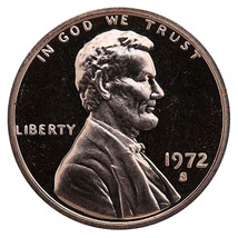 1972-S Lincoln Memorial Cent Penny Gem Proof US Mint Coin Uncirculated UNC - $7.99