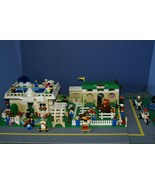CUSTOM LEGO SET 1101 PCS 27 MINIFIGURES BERMUDA RANCH STABLES HORSES POO... - $284.99