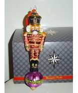 Christopher Radko Alizarin Attention Nutcracker Ornament Limited Edition... - $50.00
